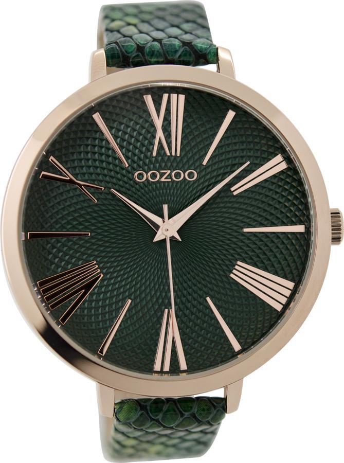 OOZOO  Ladies Green Leather Strap C9216