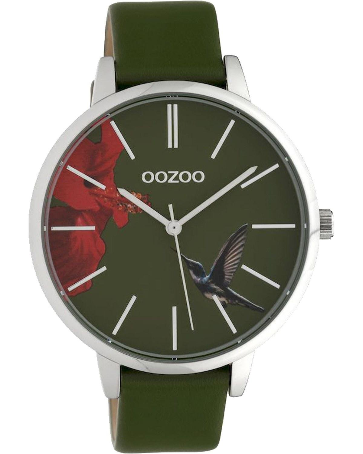OOZOO Timepieces Limited Blue Leather Strap C10185